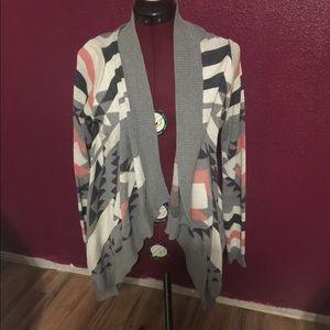 Pink Republic cardigan sweater - size Large